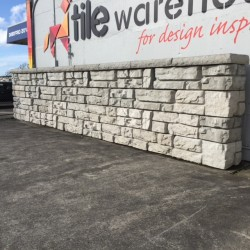 "C&O Redi-Rock Retaining Wall System - "" Two Custom Textures, One Complete System """