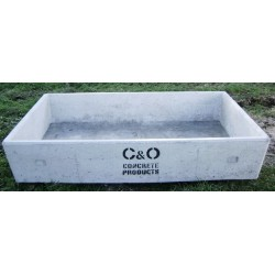 Oblong Water / Molasses / Feed Troughs