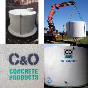 Concrete Water Tanks - Above and Below Ground
